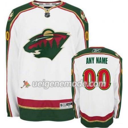 Kinder Eishockey Minnesota Wild Trikot Custom weiß Premier Auswärts