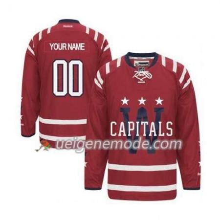 Kinder Eishockey Washington Capitals Trikot Custom Rot 2015 Winter Classic