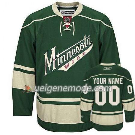 Kinder Eishockey Minnesota Wild Trikot Custom vihreä Premier Ausweich
