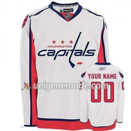 Reebok Dame Eishockey Washington Capitals Trikot Custom weiß Premier Auswärts